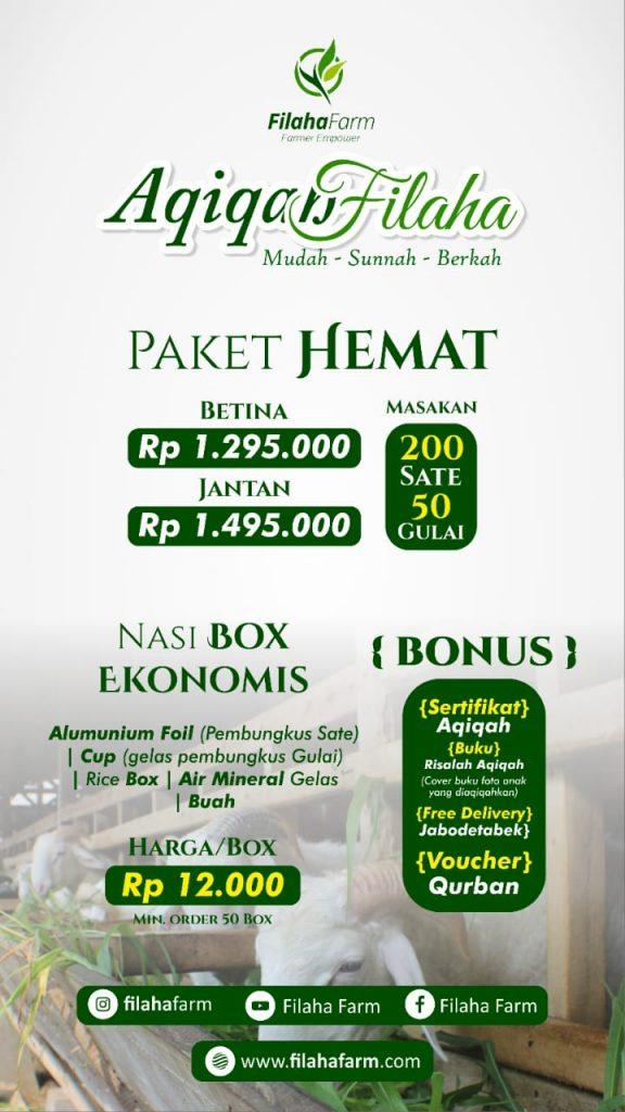 PAket Aqiqah Jakarta Hemat