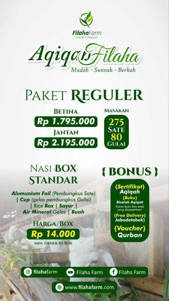 Paket Aqiqah Jakarta Reguler
