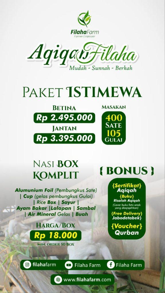 Paket Aqiqah Jakarta Istimewa