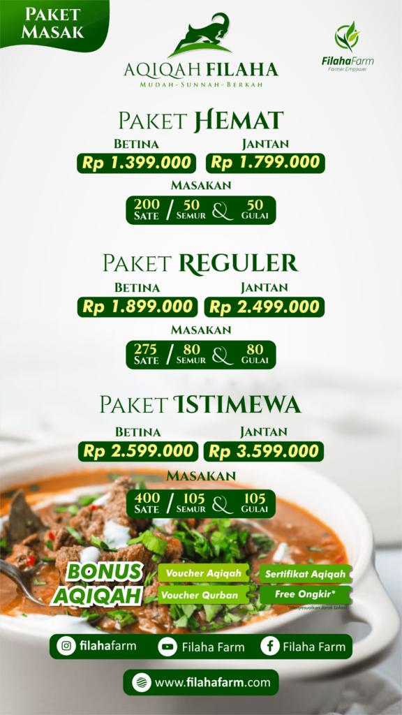 PAket Aqiqah Bogor